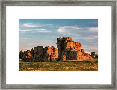 Rocky Barbican Framed Print by Todd Klassy