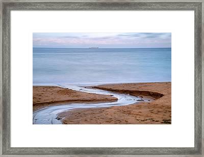 Rocky Bay Beach - Ireland Framed Print