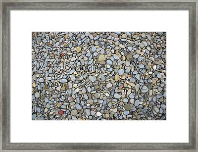 Rocky Beach 1 Framed Print by Nicola Nobile