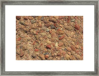 Rocky Beach 4 Framed Print by Nicola Nobile