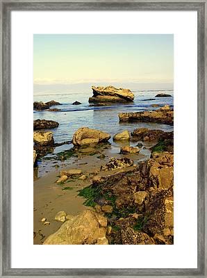 Rocky Beach Framed Print by Marty Koch