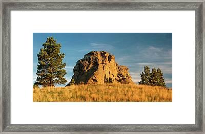 Rocky Beauty Framed Print by Todd Klassy