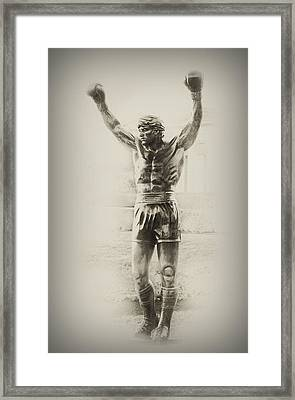 Rocky Framed Print by Bill Cannon