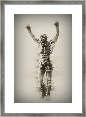 Rocky Framed Print by Bill Cannon