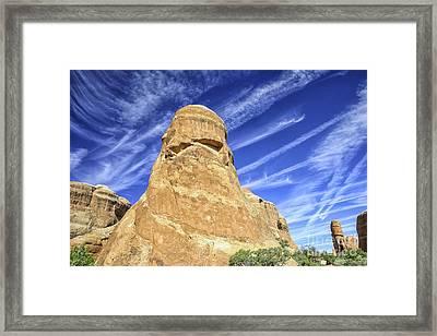 Rocky Burqua Framed Print