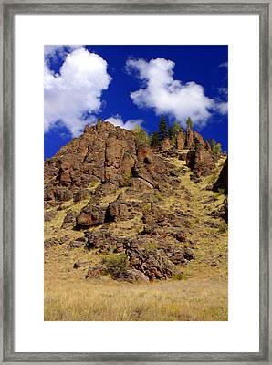 Rocky Butte Framed Print by Marty Koch