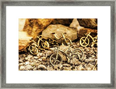 Rocky Cape Bicycles Framed Print by Jorgo Photography - Wall Art Gallery