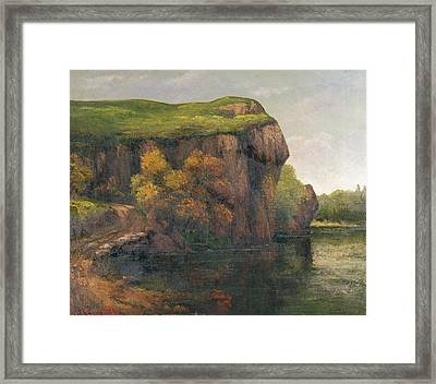 Rocky Cliffs Framed Print