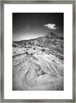 Framed Print featuring the photograph Rocky Cornet With Cloud Icing by Alexander Kunz