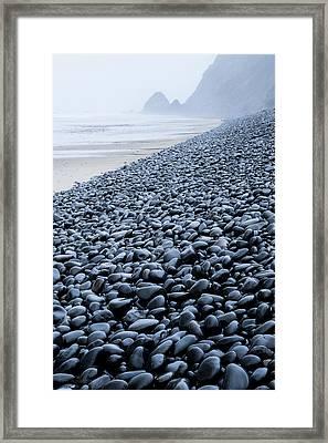 Rocky Falcon Cove Framed Print