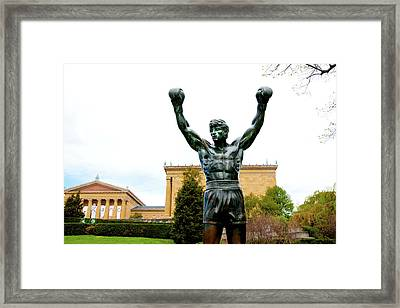 Framed Print featuring the photograph Rocky I by Greg Fortier