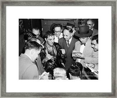 Rocky Marciano (1924-1969) Framed Print