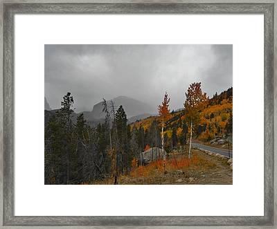 Rocky Mountain Color Framed Print by Julie Grace