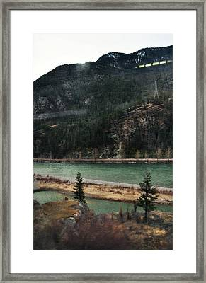 Rocky Mountain Foothills Montana Framed Print by Kyle Hanson