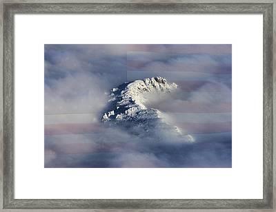 Rocky Mountain High - America The Beautiful Framed Print