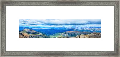 Rocky Mountain High Framed Print by Angelina Vick