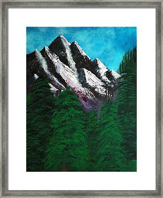 Rocky Mountain High Number One Point Five Framed Print
