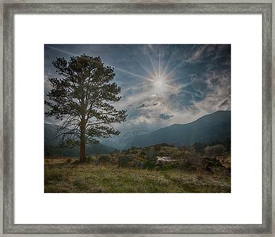 Rocky Mountain High Framed Print