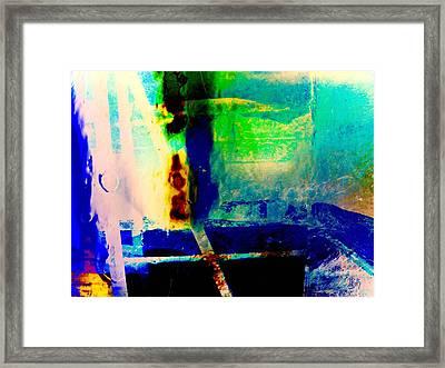 Rocky Mountain Meltdown  Framed Print by Tammy Beard