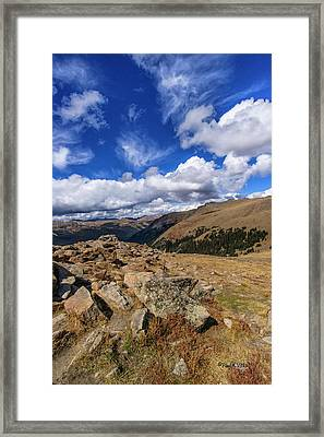 Rocky Mountain National Park Colorado Framed Print