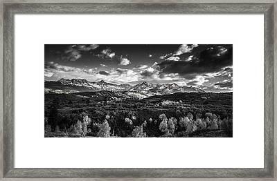 Rocky Mountain Panorama Framed Print