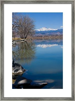 Rocky Mountain Reflections Framed Print by James BO  Insogna