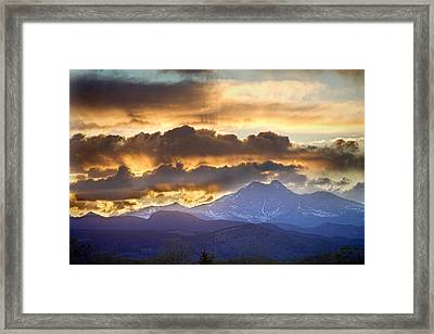 Rocky Mountain Springtime Sunset 3 Framed Print by James BO  Insogna