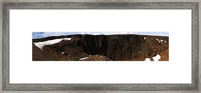Rocky Mountain Summer Framed Print by Richard Henne