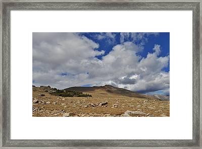 Rocky Mountain Tundra Framed Print by Julie Grace