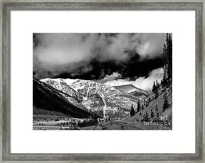 Rocky Mountian High Framed Print by John Hermann