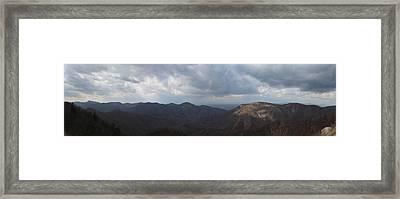 Rockytop Overlook Framed Print