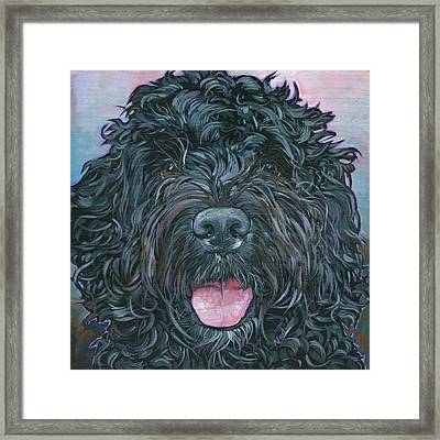 Rocky Framed Print by Nadi Spencer