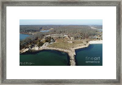 Rocky Neck Paviliion Framed Print
