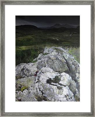 Rocky Outcrop Framed Print by Harry Robertson