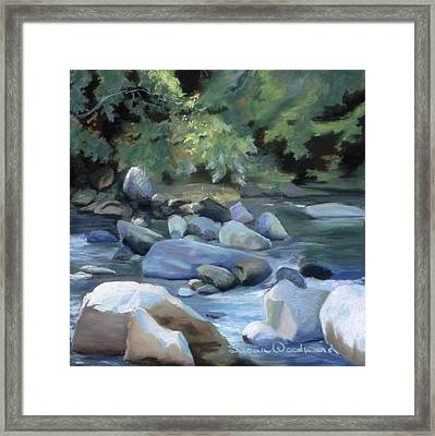 Rocky Passage Framed Print