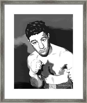 Rocky Framed Print by Paul Maher
