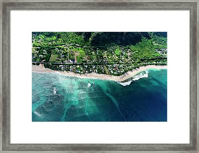 Rocky Point Overview. Framed Print