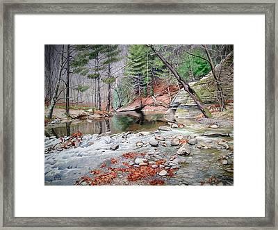 Rocky Rapids Framed Print