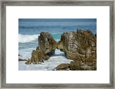Rocky Romance Framed Print