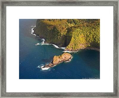 Rocky Shore Framed Print by Nicole I Hamilton