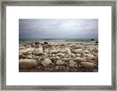 Rocky Shore Framed Print by Stefan Nielsen