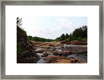 Rocky Terrain Framed Print