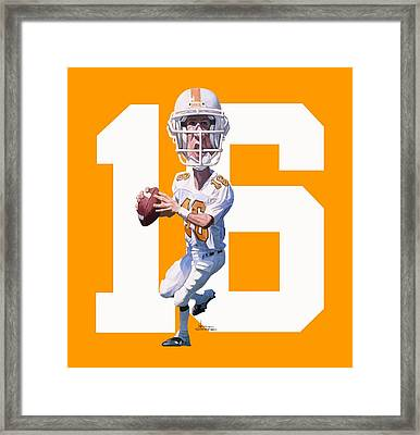 Rocky Top Framed Print by Noah Stokes