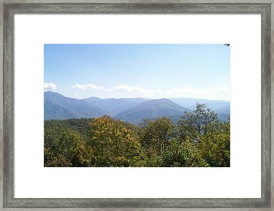 Rocky Top Tennessee 1 Framed Print by Paula Ferguson