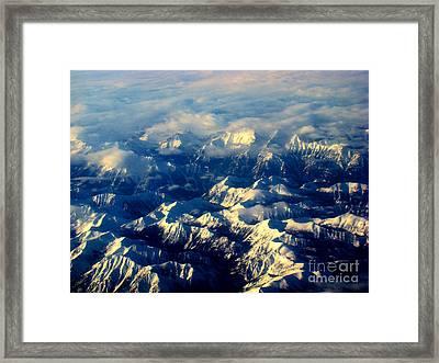 Rocky Tops Framed Print