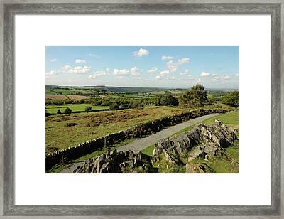 Rocky View Framed Print