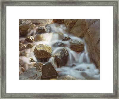 Rocky Water Framed Print