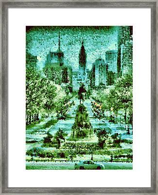 Rocky's View Framed Print