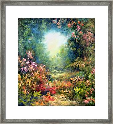 Rococo Delight Framed Print by Hannibal Mane