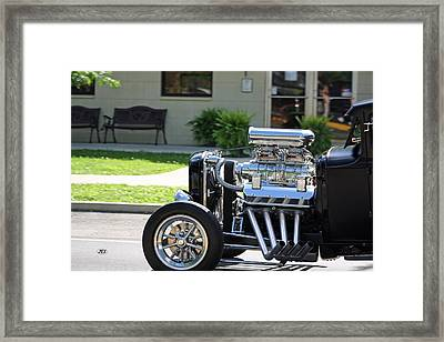 Rod Framed Print by Jim Simms